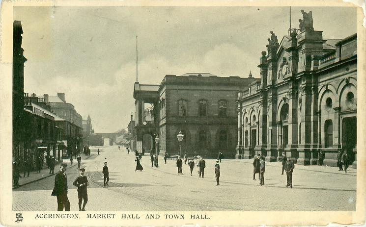 MARKET HALL AND TOWN HALL