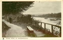 RIVER NAIRN AT WHINMEKNOWE (Tuck error for WHINNIEKNOWE)