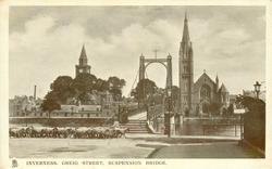 GREIG STREET, SUSPENSION BRIDGE