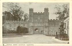 BATTLE ABBEY GATEWAY