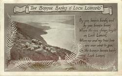 """THE BONNIE BANKS O' LOCH LOMOND"""