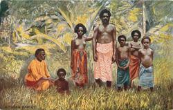 A FIJIAN FAMILY