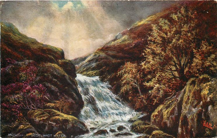 MOSEDALE BECK, WAST WATER