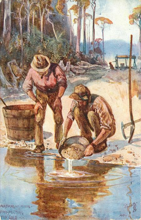 PROSPECTING FOR GOLD