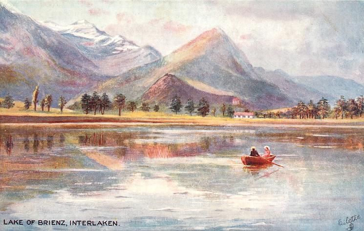 LAKE OF BRIENZ, INTERLAKEN