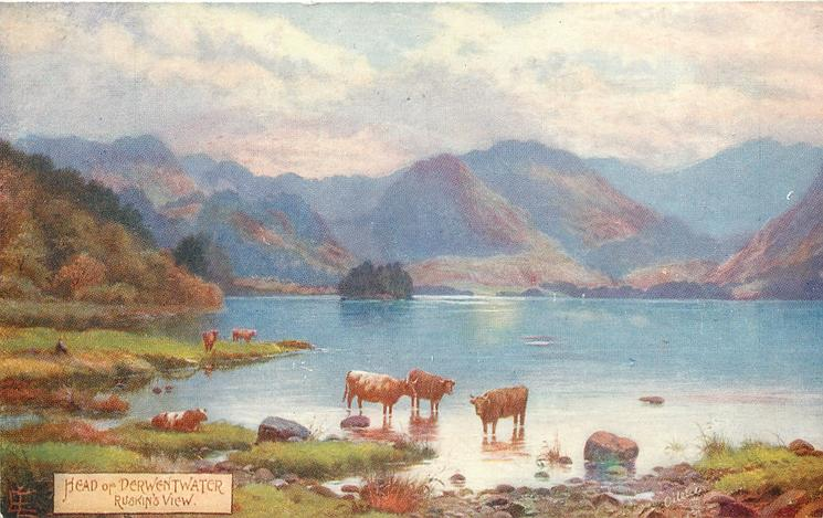 HEAD OF DERWENTWATER, RUSKIN'S VIEW