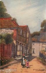 OLD HOUSES, BRADING