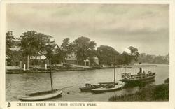 RIVER DEE FROM QUEEN'S PARK