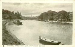 RIVER DEE AND SUSPENSION BRIDGE