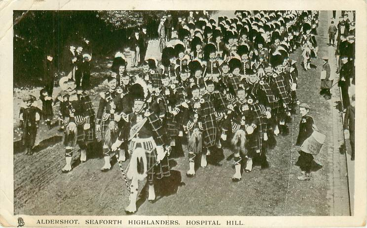 SEAFORTH HIGHLANDERS, HOSPITAL HILL