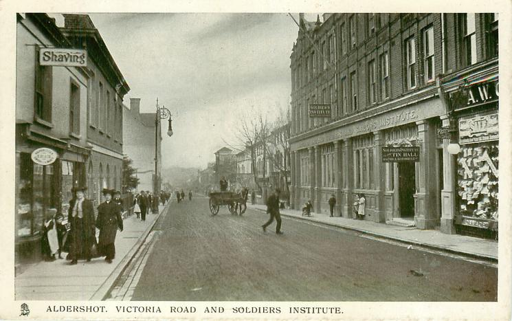 VICTORIA ROAD AND SOLDIERS INSTITUTE