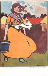 THE MAID WITH THE MILK