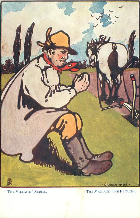 THE MAN AND THE PLOUGH