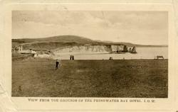 VIEW FROM THE GROUNDS OF THE FRESHWATER BAY HOTEL, I.O.W.