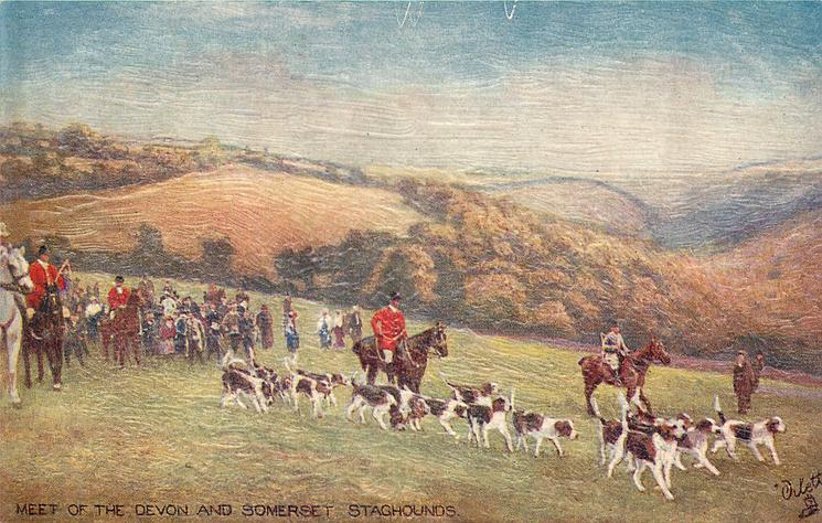 MEET OF THE DEVON AND SOMERSET STAGHOUNDS