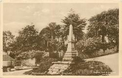 MONUMENT AND WELL