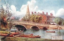 THE TOWN BRIDGE, BEDFORD