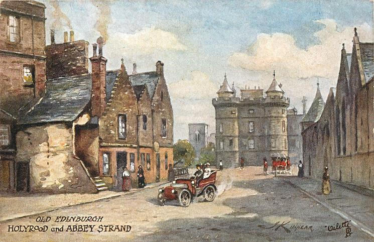 HOLYROOD  AND ABBEY STRAND