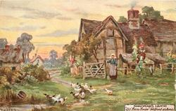 """OLD FARM HOUSE,"" - WELFORD ON AVON"