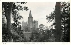 DUNFERMLINE ABBEY FROM THE WEST