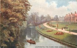 THE RIVER FROM ADELAIDE BRIDGE