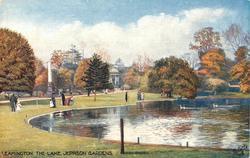 THE LAKE, JEPHSON GARDENS