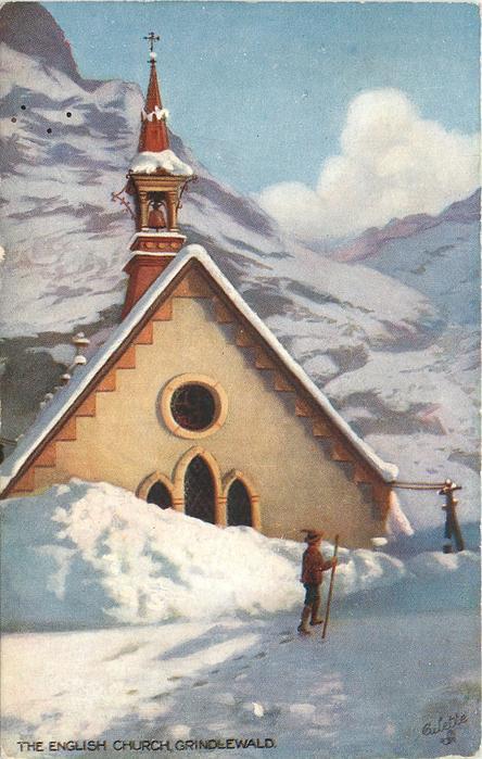 THE ENGLISH CHURCH, GRINDLEWALD