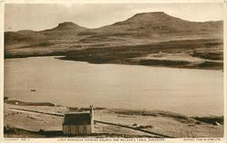 LOCH DUNVEGAN SHOWING CHURCH AND MCLEOD'S TABLE