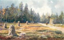 CULLODEN, THE CAIRN & GRAVES OF THE CLANS