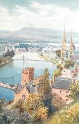 INVERNESS FROM CASTLE HILL