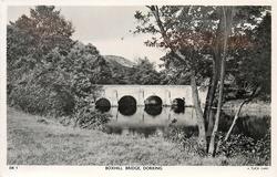 BOXHILL BRIDGE