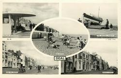 5 insets THE PROMENADE/THE WALMER LIFEBOAT/THE BEACH/THE SEA FRONT/BEACH STREET