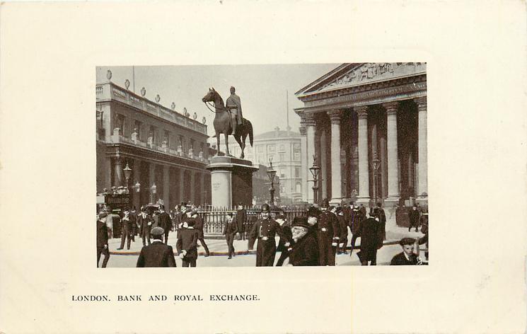BANK  AND ROYAL EXCHANGE