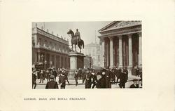 BANK  AND ROYAL EXCHANGE