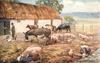 AN IRISH FARMYARD