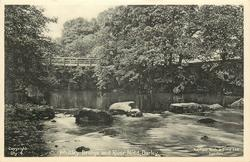 WHITLEY BRIDGE AND RIVER NIDD
