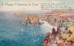 ENY'S DODNAN, LANDS END, A HAPPY CHRISTMAS TO YOU