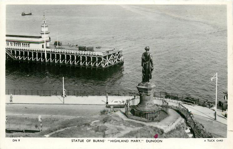 STATUE OF BURNS' HIGHLAND MARY