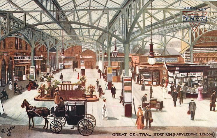 GREAT CENTRAL STATION, MARYLEBONE