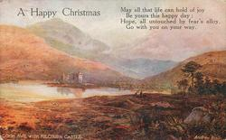 A HAPPY CHRISTMAS LOCH AWE WITH KILCHURN CASTLE