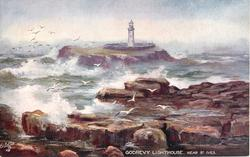 GODREVY LIGHTHOUSE, NEAR ST. IVES
