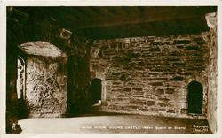 DINING ROOM, DOUNE CASTLE (MARY QUEEN OF SCOTS)