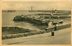 THE HARBOUR AND WHARF