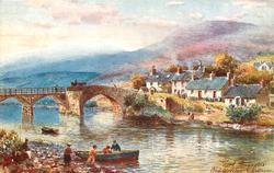 OLD BRIDGE & COTTAGES