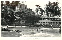 close view of  hotel sea & bathers front