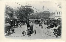 A SCENE IN THE 'PETTAH' OR NATIVE TOWN