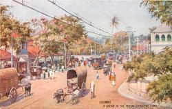 A SCENE IN THE PETTAH OR NATIVE TOWN