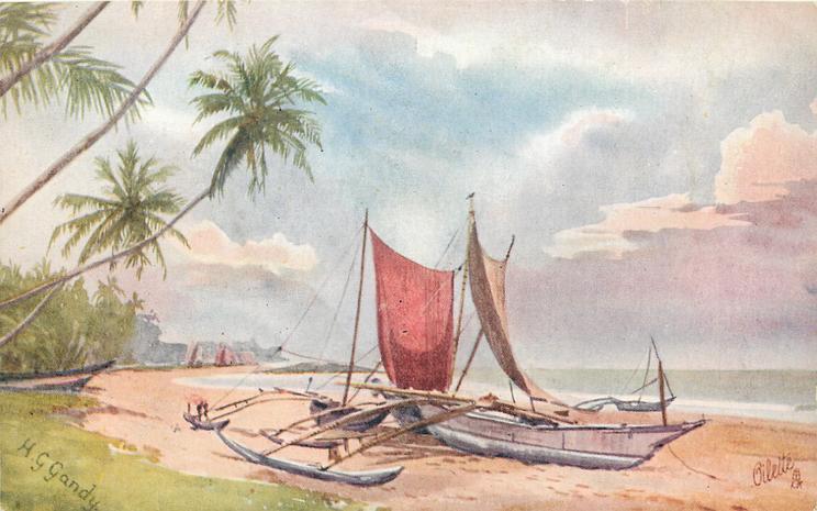 CATAMARANS (FISHING BOATS) DEHIWALA
