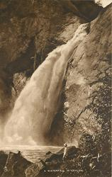 A WATERFALL IN CEYLON