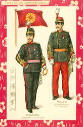 COLONEL INFANTRY (ON PARADE), MAJOR GENDARMERIE (ON PARADE)